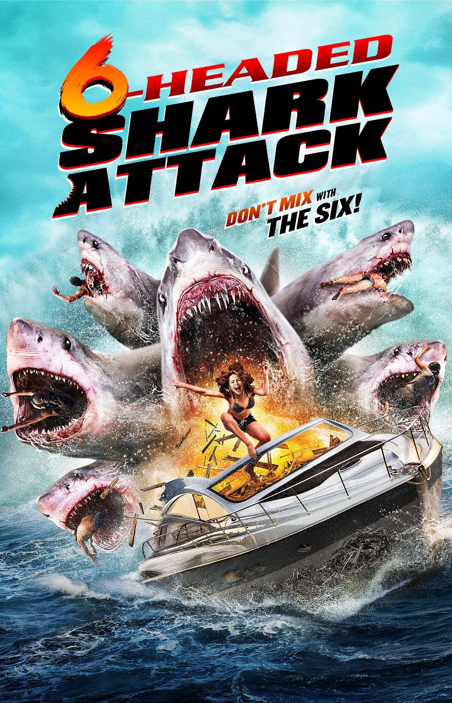 DVD : 6-headed Shark Attack (DVD)