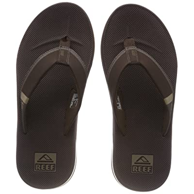 Reef Men's Sandals Fanning Low| Bottle Opener Flip Flops for Men with Arch Support: Shoes