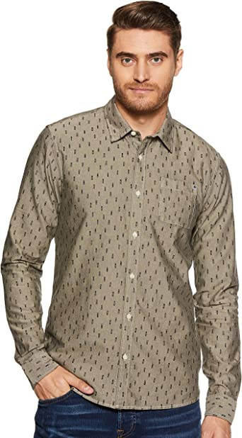 Scotch & Soda - Camisa de manga corta para hombre, corte regular Combo D S: Amazon.es: Ropa y accesorios