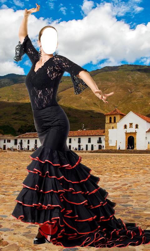 Montaje de foto de vestido de flamenco : Amazon.es: Apps y Juegos