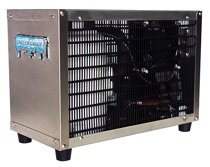 "Chiller Daddy Water Chiller For Home or Office - 304 Stainless Steel ""Inside & Out"""