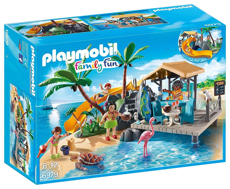 Playmobil Isola Caraibica con Chiringuito,, 6979 Playmobil Italia S.r.l
