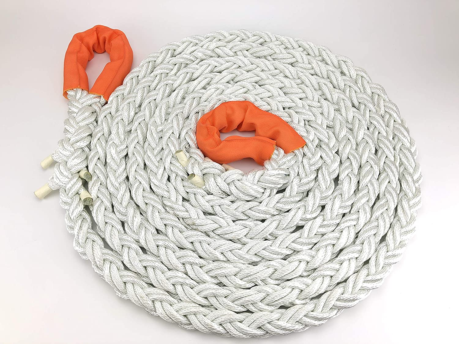 RopeServices UK 4X4 And Off Road Kinetic Recovery Tow Ropes 24mm X 8 Metres