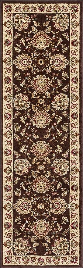 Sultan Sarouk Brown Oriental 2x7 23quot X 73quot Runner