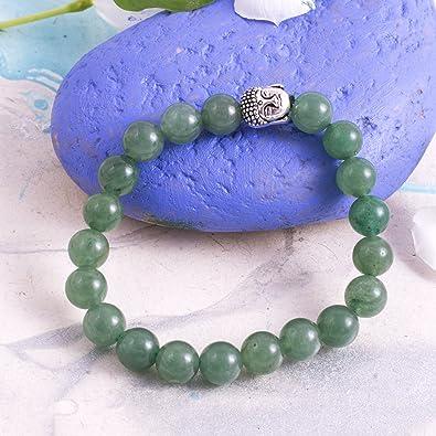 Aurra stores Green Crystal Aventurine Bracelet Stone of Prosperity