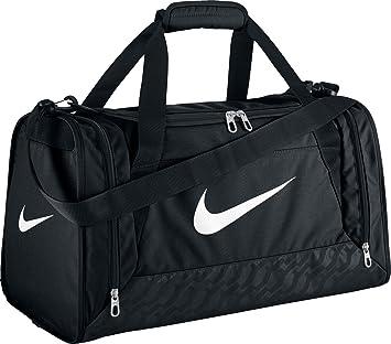 Nike Brasilia 6 Small Duffel Bolsa, Unisex, Negro/Blanco, Talla Única: Amazon.es: Deportes y aire libre