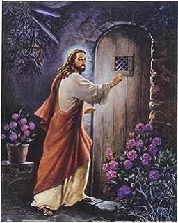 Amazon jesus christ knocking at the door religious and jesus knocking on your door religious wall picture 8x10 art print altavistaventures Gallery