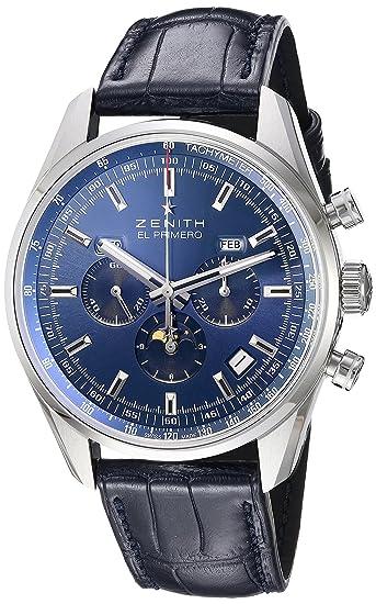 newest 48a02 60150 Amazon   [ゼニス] ZENITH 腕時計 エルプリメロ410 シャルル ...