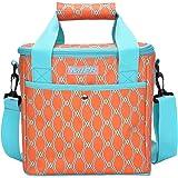 9a8b1d3ca MIER - Bolsa de picnic aislante para alimentos, camping, coche, color  naranja brillante
