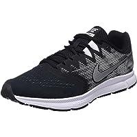 Nike Men's Zoom Span 2, Black/Metallic Silver