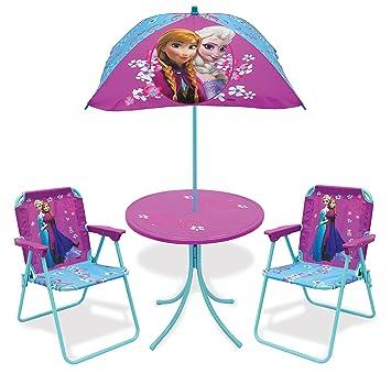 High Quality Disney Frozen Childrenu0027s Patio Set (2 Folding Chairs, Table U0026 Umbrella)
