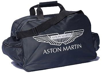 Neu Aston Martin Schwarz Logo Sporttasche Leichte Seesack