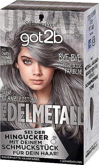 Metallic haarfarbe schwarzkopf