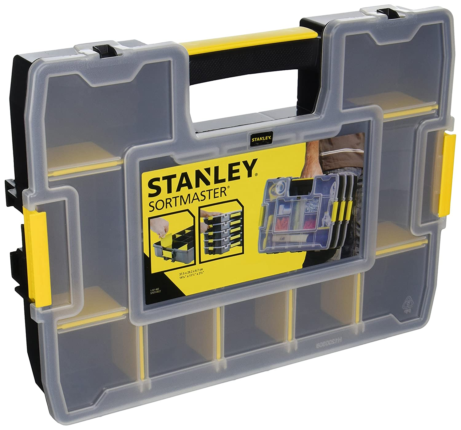 Garage Parts In A Box : Tool box organizer portable garage storage cabinet small
