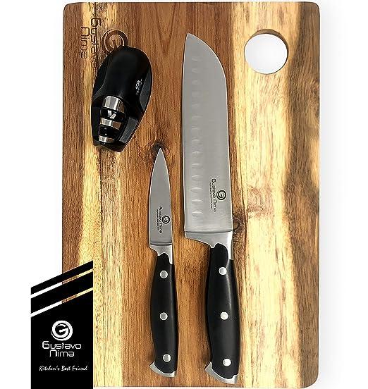 Gustavo Nima, juego de cuchillos para cocina, cuchillos ...