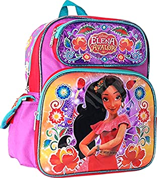 Hot Pink 16 Inch Large~ Disney Princess Cargo School Backpack Bag