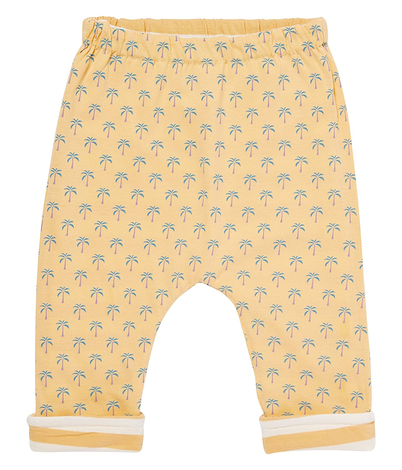 Ecoable Baby /& Toddler Girls/' Reversible Pants Organic Cotton Apricot Stripes