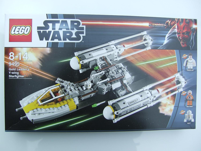 Lego StarWars 9495 oro Leaders Y-Wing Starfighter