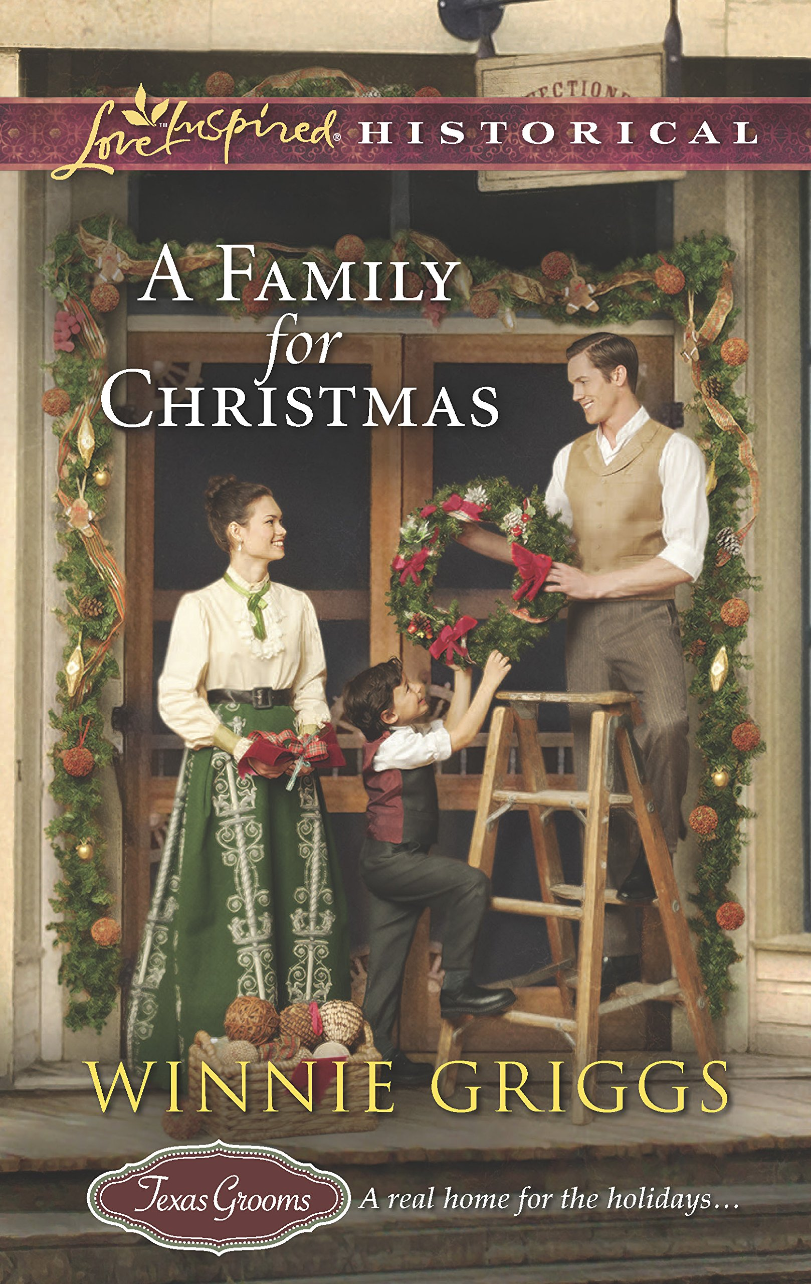 Read Online A Family for Christmas (Texas Grooms (Love Inspired Historical)) pdf