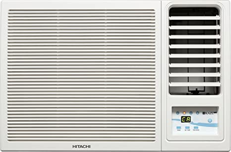 hitachi ac 1 5 ton price. hitachi 1.5 ton 3 star window ac (raw318kud kaze plus, white) ac 1 5 price