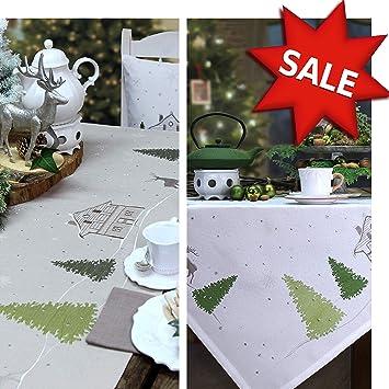 sander Tischläufer WINTER COTTAGE Weihnachten Farb- und ...