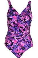 Miraclesuit Women's Plus-Size Pin Point Rialto One Piece