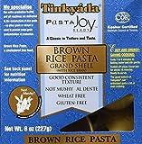 Brown Rice Pasta Grand Shell 8 oz Pkg ( 2 Pack )
