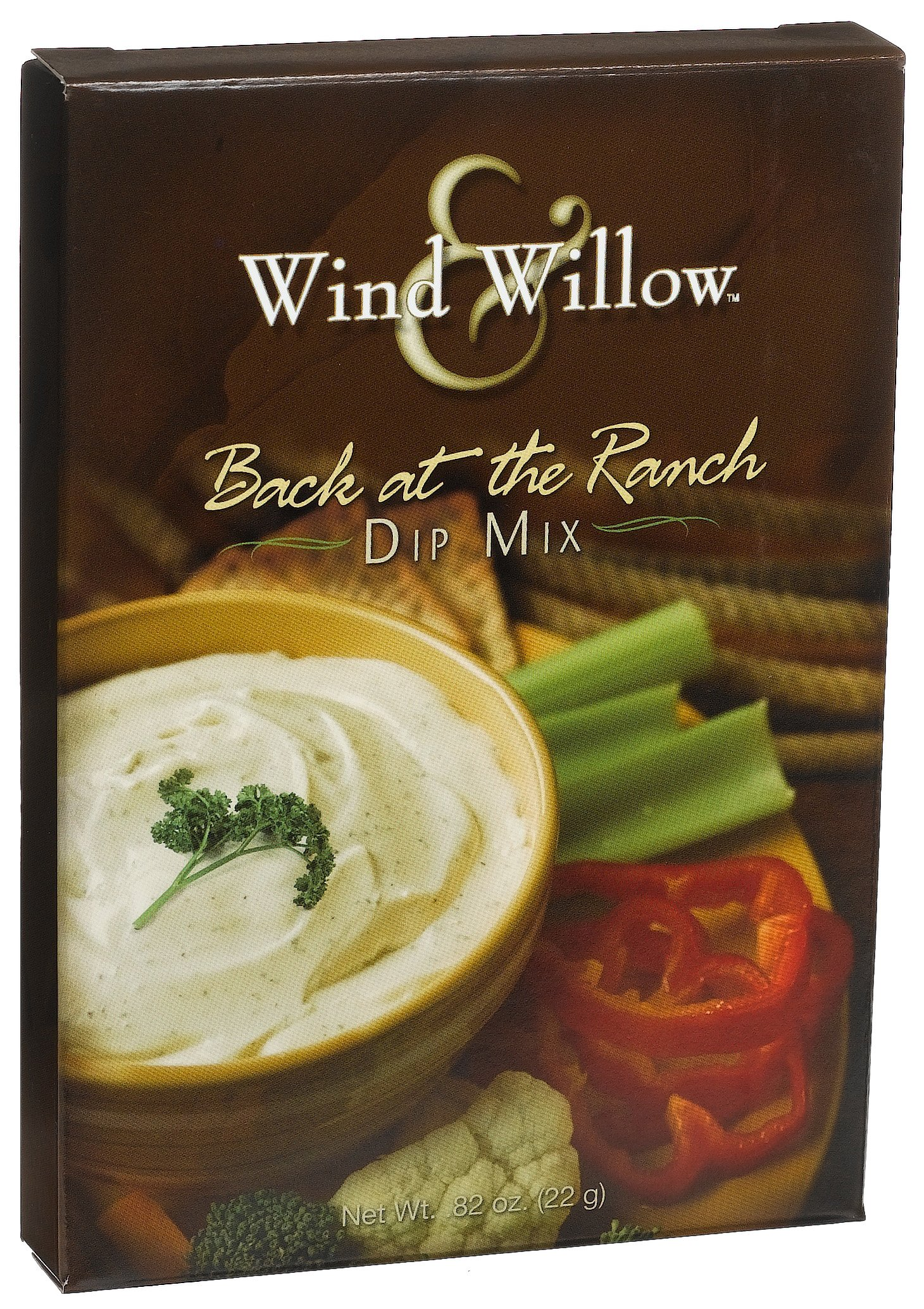 Wind & Willow Back At The Ranch Dip, .82-Ounce Boxes (Pack of 6) by Wind & Willow