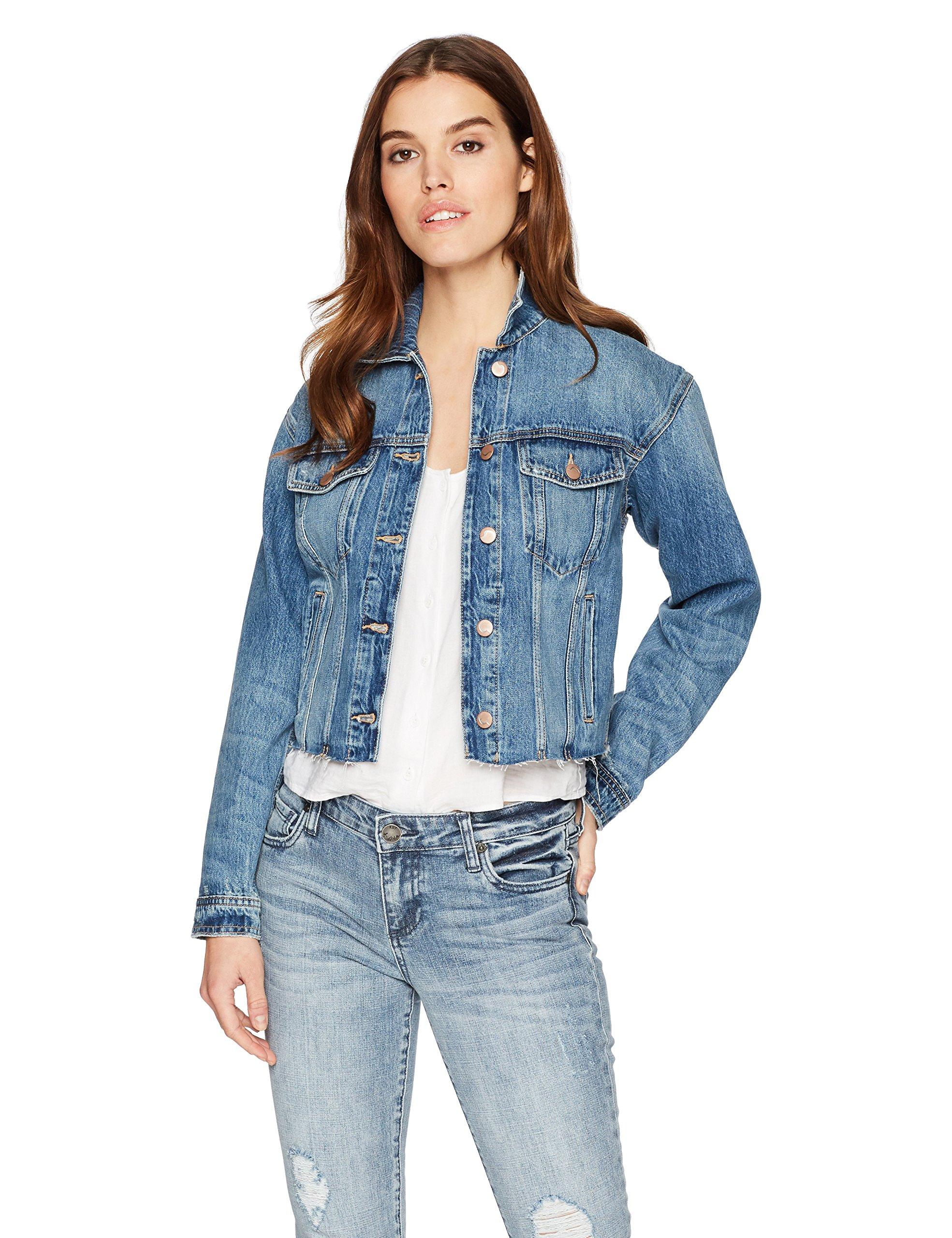 Joe's Jeans Women's Cut Off Denim Jacket, dyanna, S
