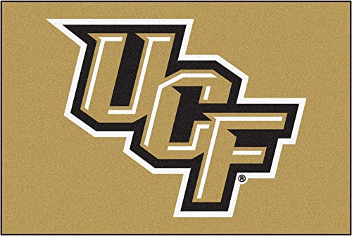 FANMATS NCAA University of Central Florida Knights Nylon Face Ultimat Rug