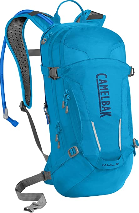 93a05046936 CamelBak M.U.L.E. Crux Reservoir Hydration Pack, Atomic Blue/Pitch Blue, 3  L/