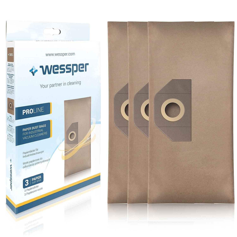 Wessper® Bolsas de aspiradora 6.959-130 para Karcher SE4001 ...