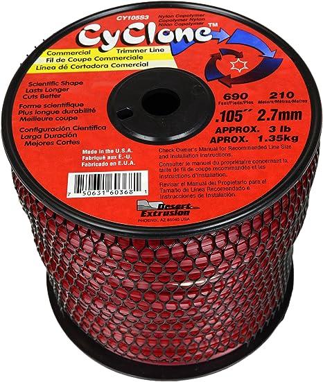 Amazon.com: Cyclone CY105S3 línea de corte de grado ...