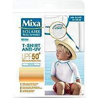Mixa solaire peau sensible camiseta antirrayos UV,