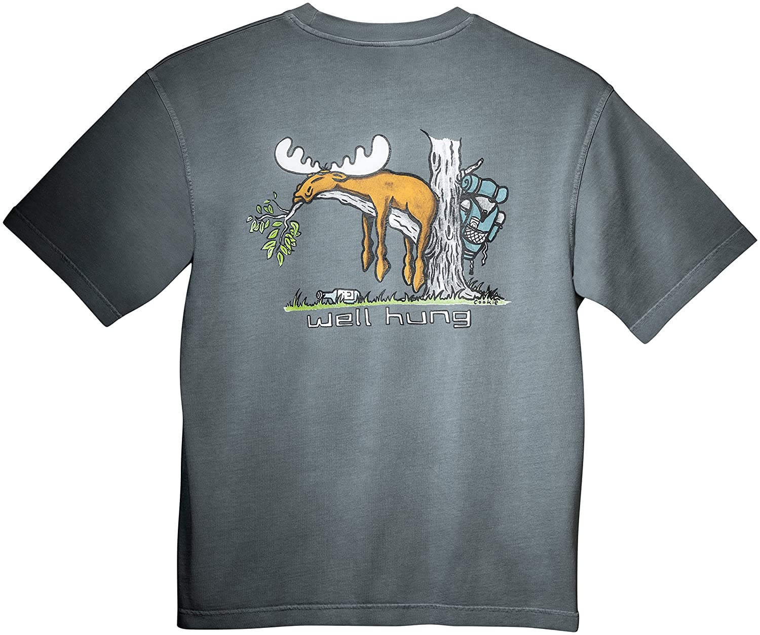 Uber Moose Well Hung Printed T Shirt