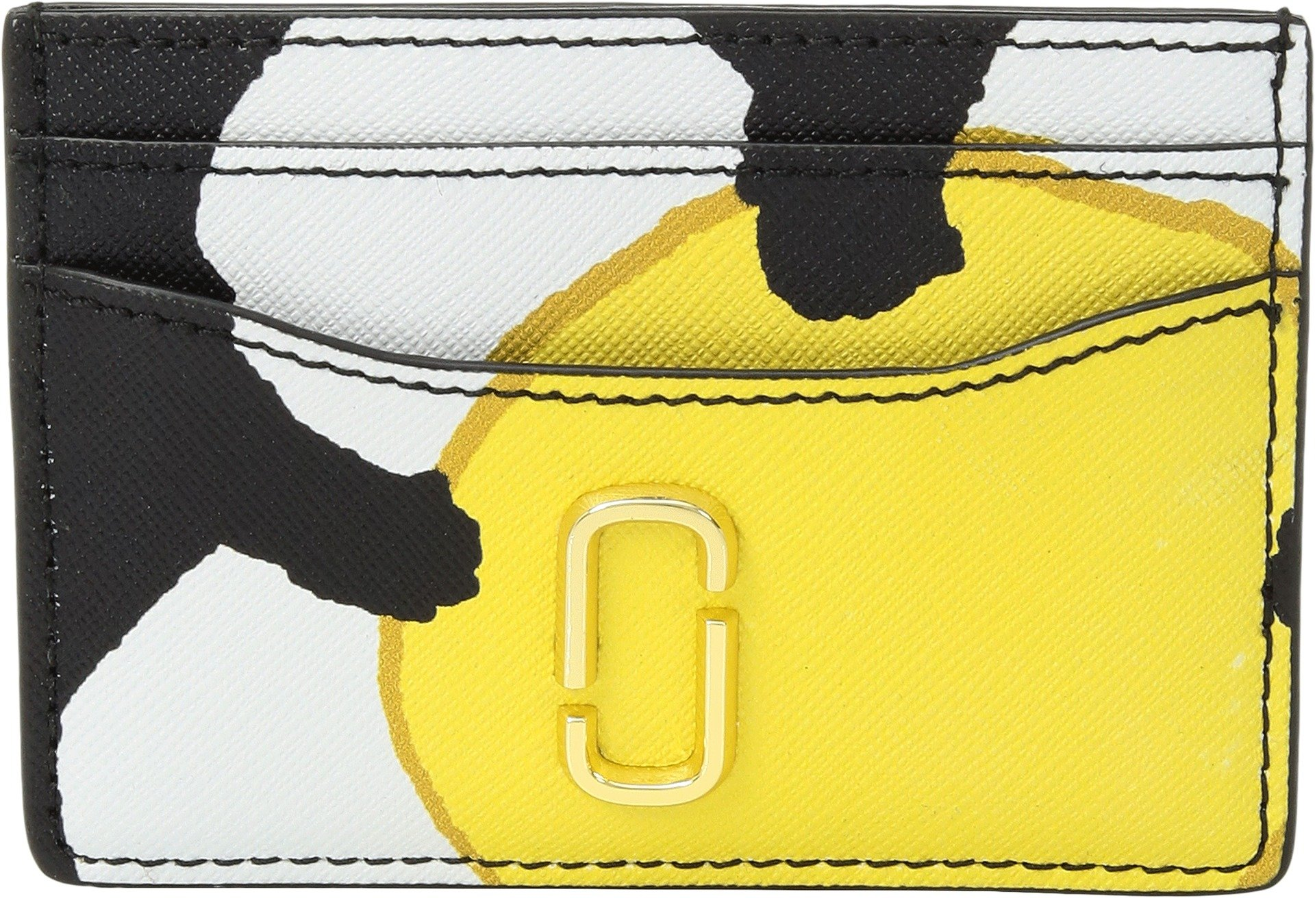Marc Jacobs Women's Snapshot Daisy Card Case, Yellow Multi, One Size