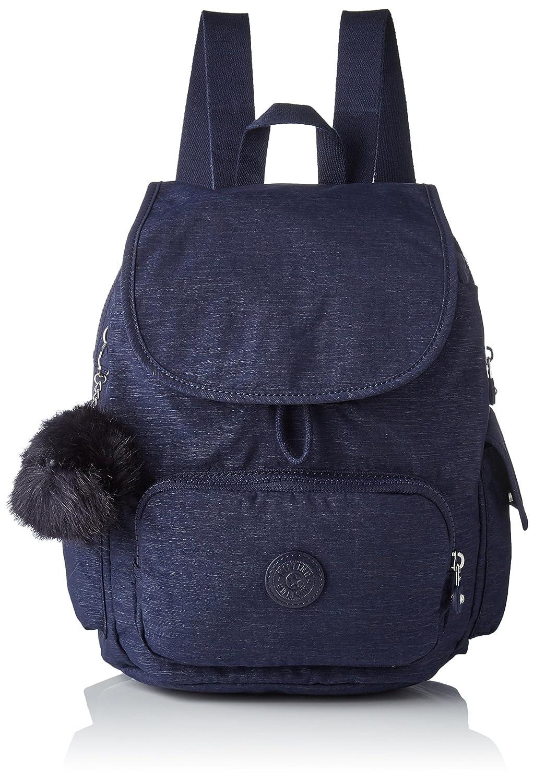 Kipling K15641, Portés dos femme Kipling City Pack S Sacs à dos femme Bleu (Silver Sky) 19x27x33.5 cm (B x H T)
