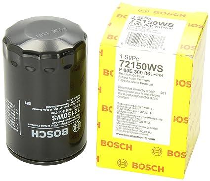 Bosch 72150 WS taller motor filtro de aceite: Amazon.es ...