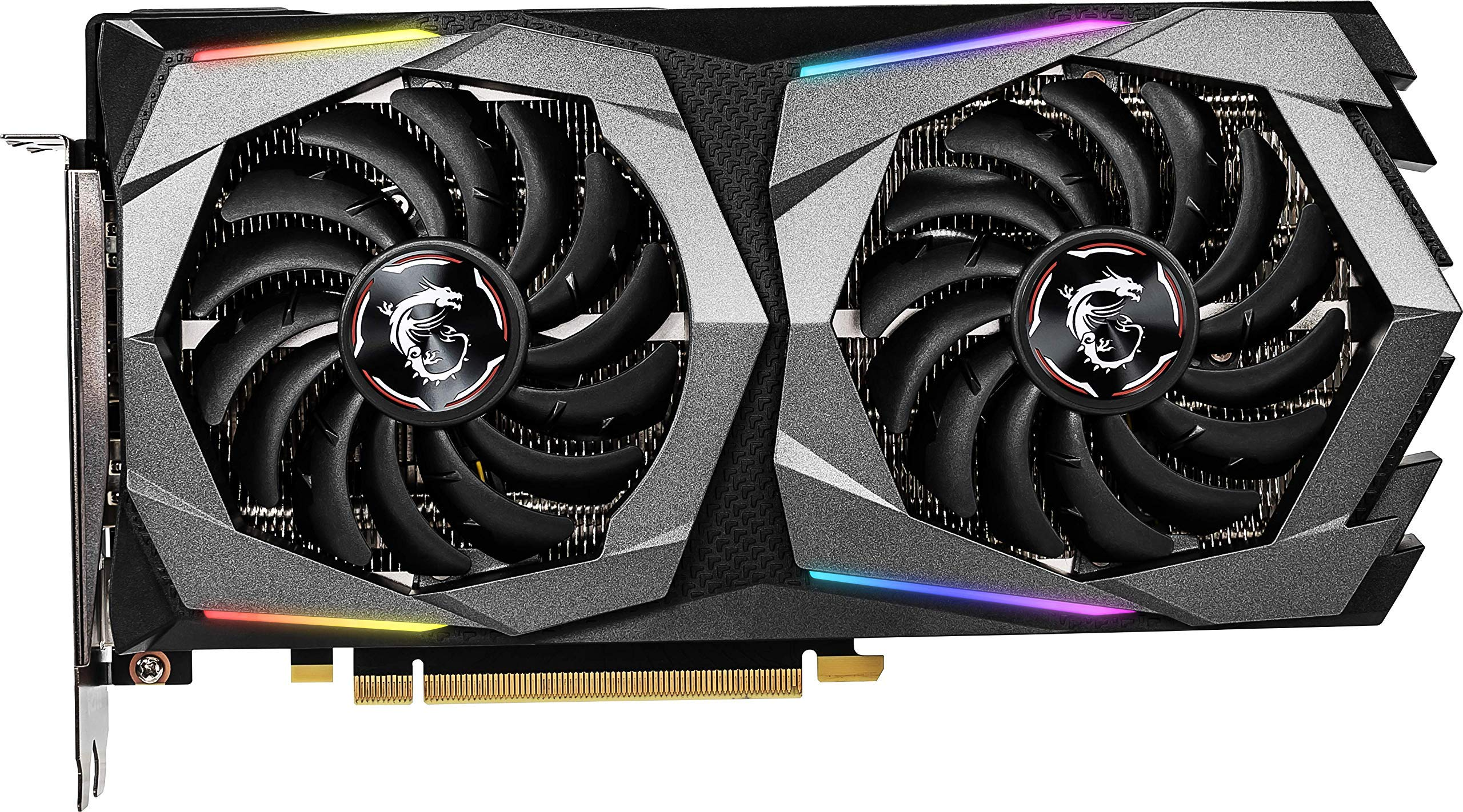 MSI Gaming GeForce RTX 2060 Super 8GB GDRR6 256-bit HDMI/DP G-SYNC Turing Architecture Overclocked Graphics Card (RTX 2060 Super Gaming X) by MSI