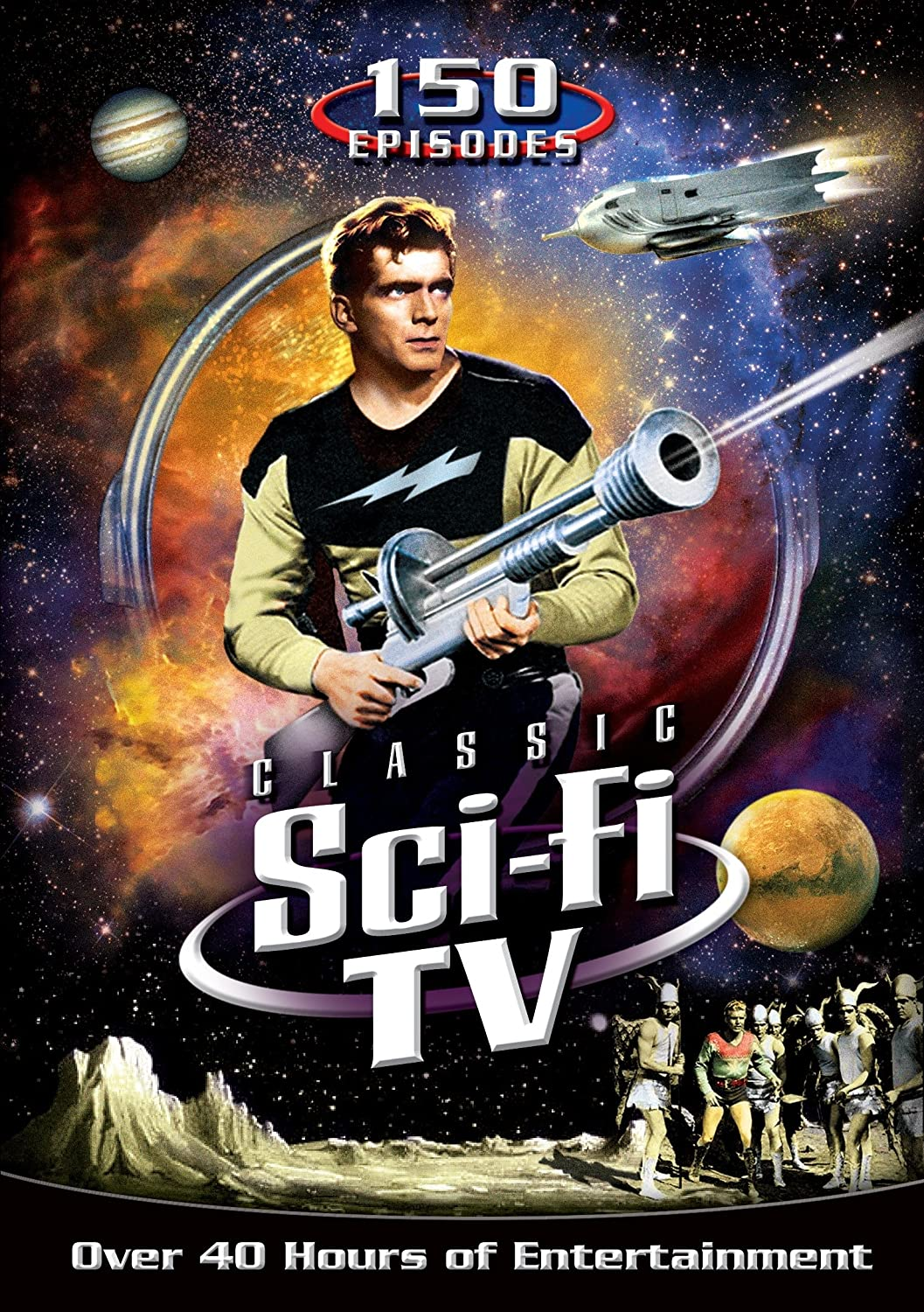 Classic Sci Fi TV: 150 Episodes Warren Tufts Don Megowan Richard H. Cutting Barbara Wilson
