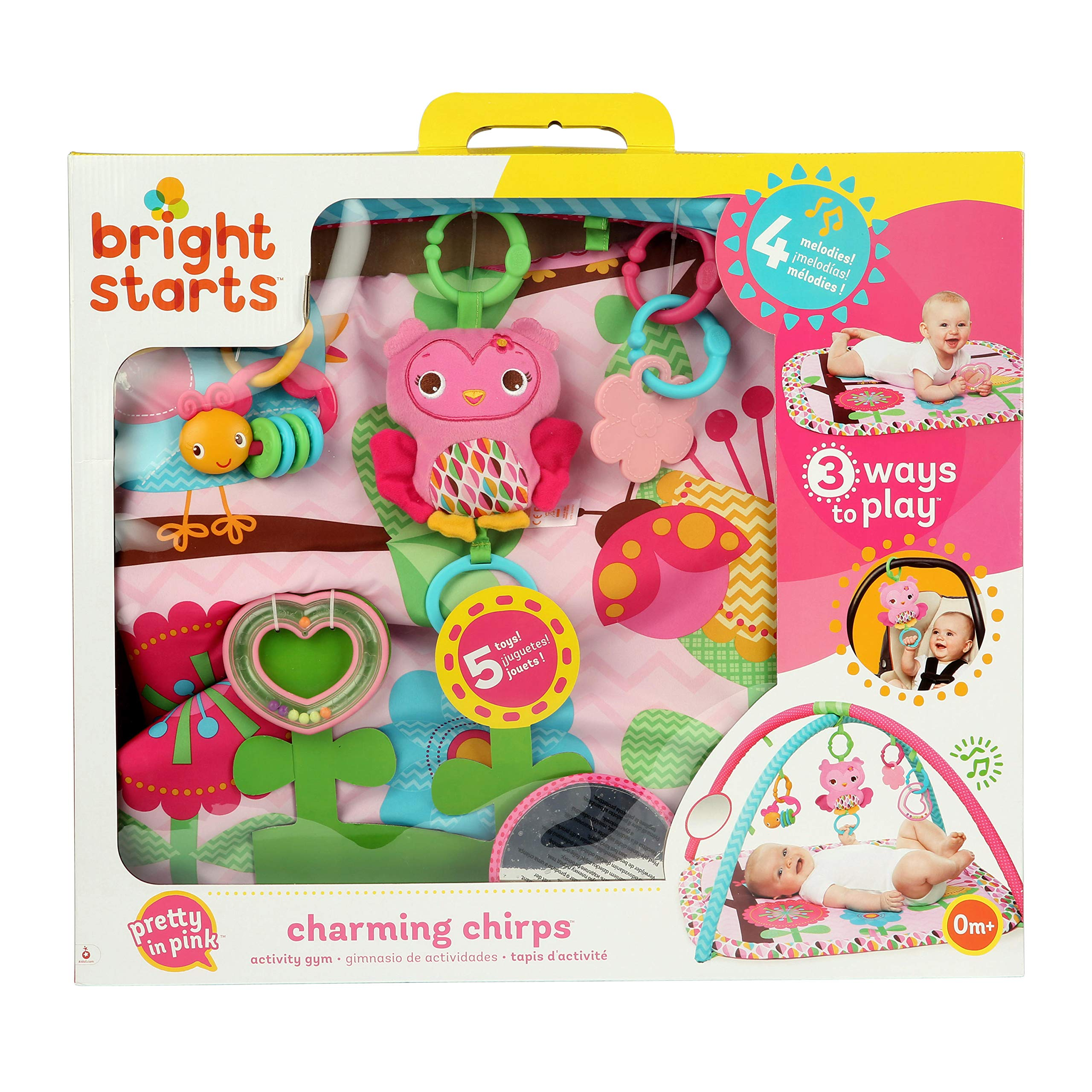 Bright Starts Charming Chirps Activity Gym, Pretty In Pink by Bright Starts (Image #12)