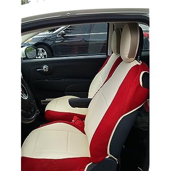 Amazon Com Fiat Genuine 82212488 Seat Cover Set Rear Automotive