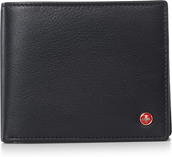 Amazon.com: Alpine Swiss RFID - Monedero para hombre (doble ...