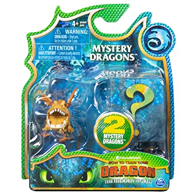 How to Train Your Dragon, The Hidden World - Mystery Dragons (2 Pack) (Meatlug): Toys & Games