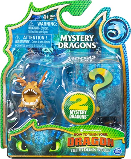 New How to Train Your Dragon Hidden World RARE MEATLUG Blind Bag Mini Figure