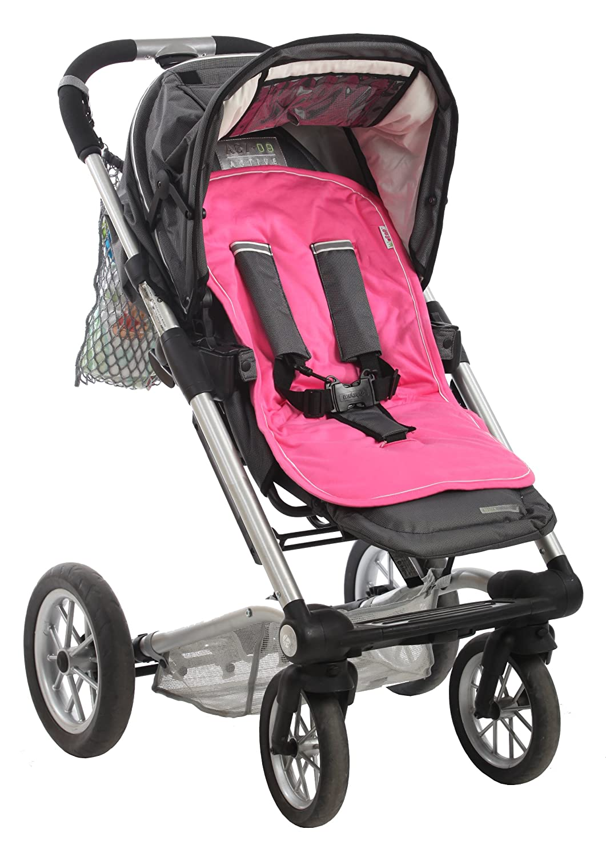 Minene Universal Pushchair Stroller Pram Buggy Liner Footmuff Cosytoes Car Seat (Fuchsia) 2055