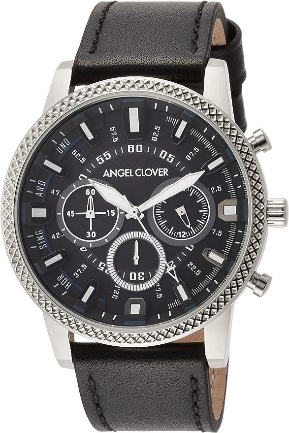 [エンジェルクローバー] 腕時計 Ridge ブラック文字盤 RD44SBK-BK メンズ ブラック