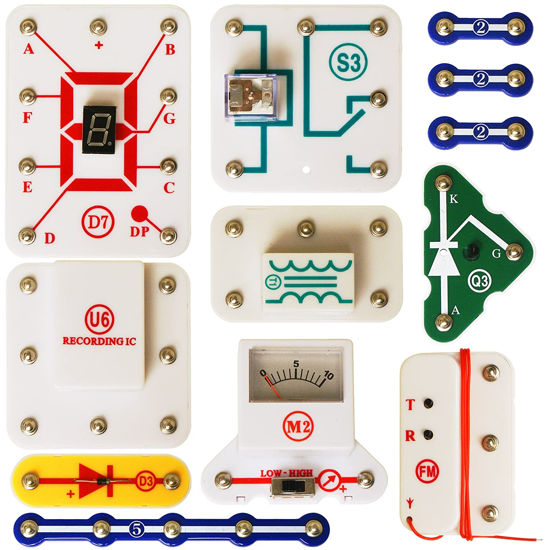 Elenco Snap Circuits Uc 50 Upgrade Kit Electronics Kits Amazon Canada Jr With 100 Projects Sc100