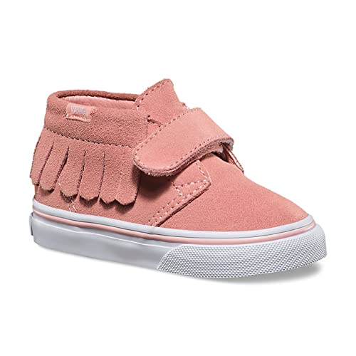 ca5c1bf1aa Vans Toddlers Suede Chukka V Moc Blossom/True White VN000308HWJ ...