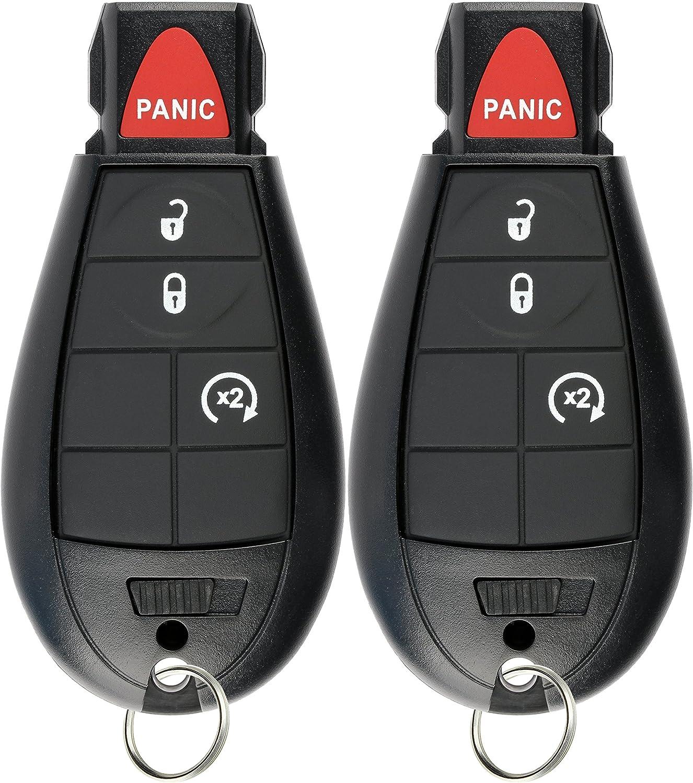For 2013 2014 2015 2016 2017 2018 Ram 1500 2500 3500 Trunk Remote Key Fob